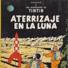 Cómics: LAS AVENTURAS DE TINTIN - ATERRIZAJE EN LA LUNA , EDITA : JUVENTUD ( TAPA BLANDA ). Lote 55918593