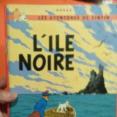 Cómics: TINTIN LILE NOIRE FRANCES. Lote 56080178