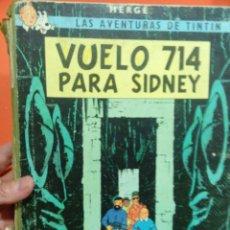 Cómics: TINTIN EL VUELO 714 PARA SIDNEY. Lote 56080538