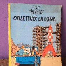 Cómics: LAS AVENTURAS DE TINTIN. OBJETIVO: LA LUNA. EDITORIAL JUVENTUD, 1983. Lote 56652053