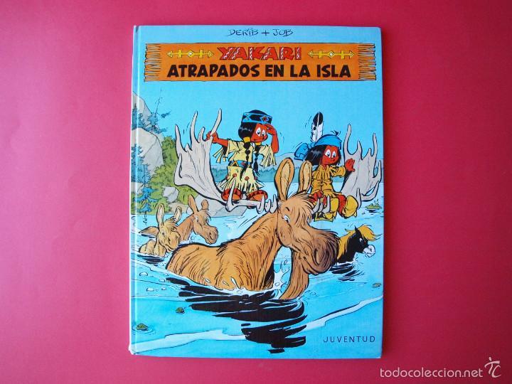 YAKARI Nº 9 - ATRAPADOS EN LA ISLA - EDITORIAL JUVENTUD - 1ª ED. 1988 - TAPA DURA (Tebeos y Comics - Juventud - Yakary)