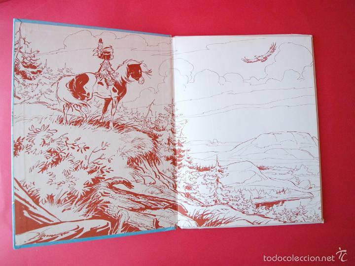 Cómics: YAKARI Nº 9 - ATRAPADOS EN LA ISLA - EDITORIAL JUVENTUD - 1ª ED. 1988 - TAPA DURA - Foto 2 - 56673777