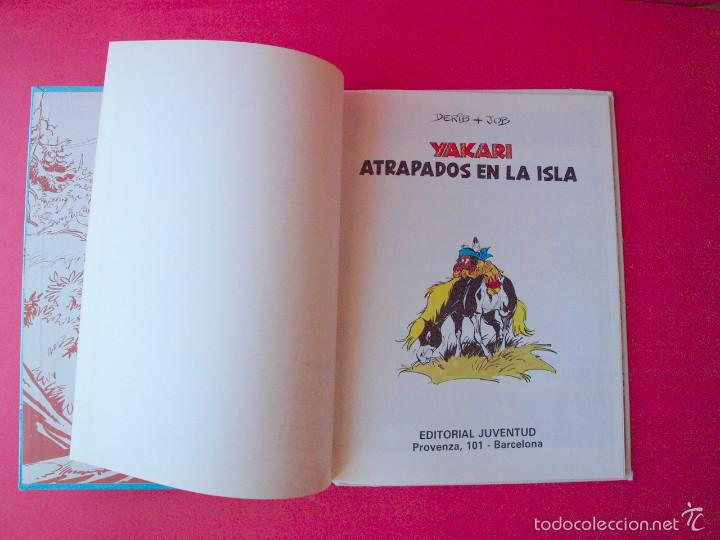 Cómics: YAKARI Nº 9 - ATRAPADOS EN LA ISLA - EDITORIAL JUVENTUD - 1ª ED. 1988 - TAPA DURA - Foto 3 - 56673777