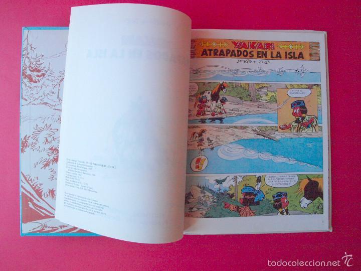 Cómics: YAKARI Nº 9 - ATRAPADOS EN LA ISLA - EDITORIAL JUVENTUD - 1ª ED. 1988 - TAPA DURA - Foto 4 - 56673777