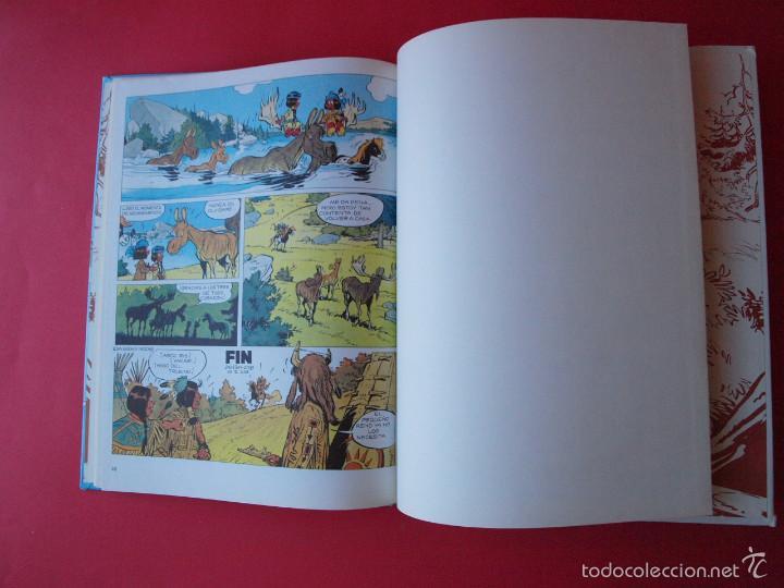 Cómics: YAKARI Nº 9 - ATRAPADOS EN LA ISLA - EDITORIAL JUVENTUD - 1ª ED. 1988 - TAPA DURA - Foto 5 - 56673777