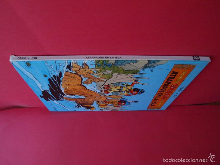 Cómics: YAKARI Nº 9 - ATRAPADOS EN LA ISLA - EDITORIAL JUVENTUD - 1ª ED. 1988 - TAPA DURA - Foto 6 - 56673777