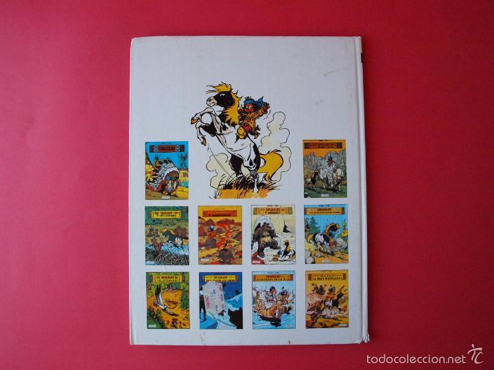 Cómics: YAKARI Nº 9 - ATRAPADOS EN LA ISLA - EDITORIAL JUVENTUD - 1ª ED. 1988 - TAPA DURA - Foto 7 - 56673777