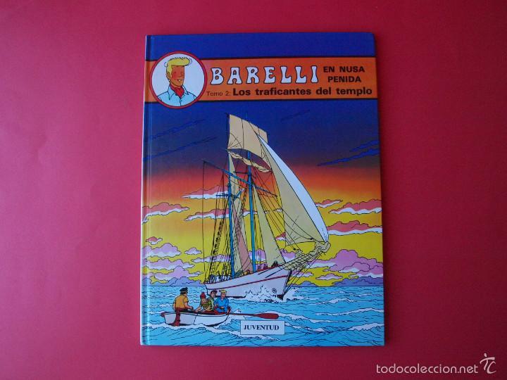 BARELLI Nº 3 - BOB DE MOOR - TOMO 2: LOS TRAFICANTES DEL TIEMPO - 1ª ED. 1991 - JUVENTUD - MBE (Tebeos y Comics - Juventud - Barelli)