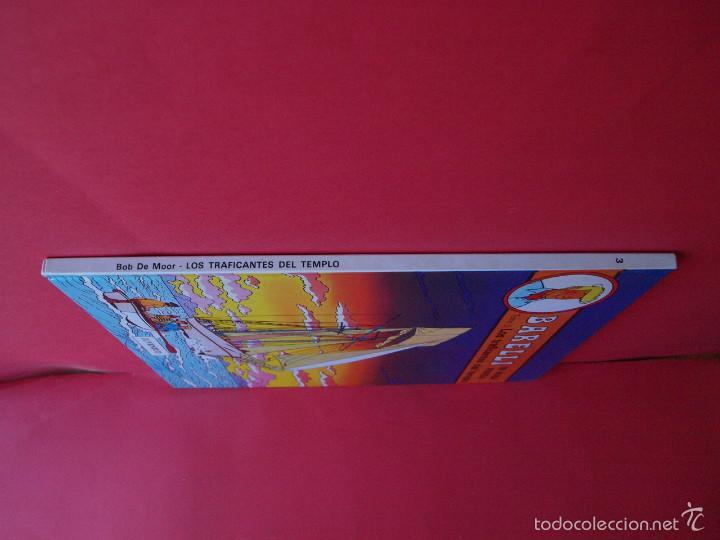 Cómics: BARELLI Nº 3 - BOB DE MOOR - TOMO 2: LOS TRAFICANTES DEL TIEMPO - 1ª ED. 1991 - JUVENTUD - MBE - Foto 2 - 56734155