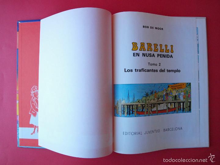 Cómics: BARELLI Nº 3 - BOB DE MOOR - TOMO 2: LOS TRAFICANTES DEL TIEMPO - 1ª ED. 1991 - JUVENTUD - MBE - Foto 3 - 56734155