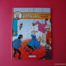 Cómics: BARELLI Y LOS AGENTES SECRETOS - Nº 5 - BOB DE MOOR - 1ª ED. 1992 - JUVENTUD - BE. Lote 56734844