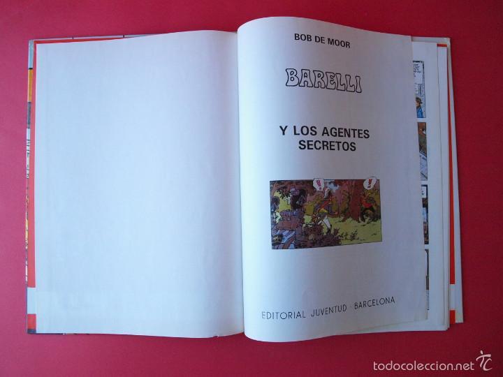 Cómics: BARELLI Y LOS AGENTES SECRETOS - Nº 5 - BOB DE MOOR - 1ª ED. 1992 - JUVENTUD - BE - Foto 4 - 56734844