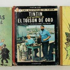 Cómics: 7521 - TINTÍN. 3 EJEMPLARES. 2ª Y 3ª EDICIÓN(VER DESCRIP). HERGÉ. EDI. JUVENTUD. 1967/68.. Lote 61309434