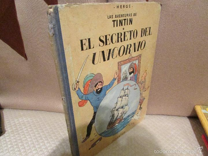 TINTIN EL SECRETO DEL UNICORNIO (Tebeos y Comics - Juventud - Tintín)