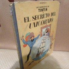 Cómics: TINTIN EL SECRETO DEL UNICORNIO. Lote 56827717
