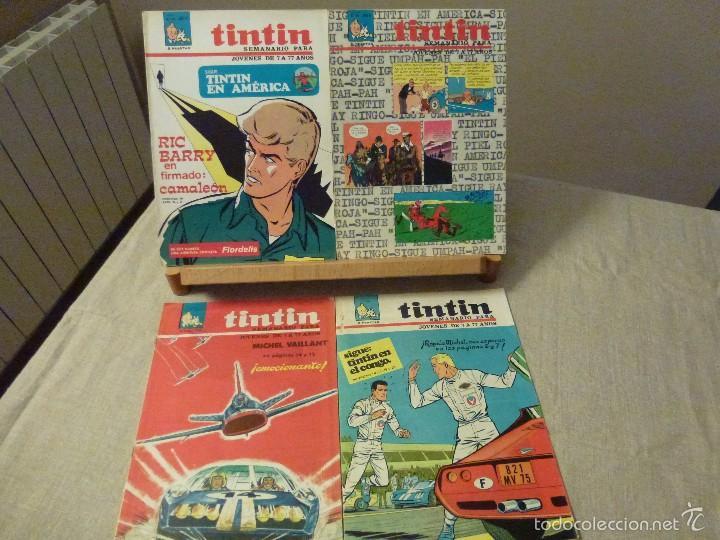 SEMANARIO TINTÍN - ZENDRERA - 1968 - NÚMEROS 13 , 24 , 38 , 40 (Tebeos y Comics - Juventud - Tintín)