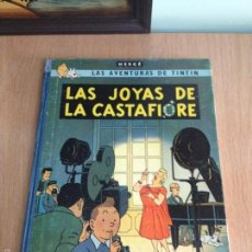 Cómics: TINTIN. LAS JOYAS DE LA CASTAFIORE. 1ª PRIMERA EDICION ABRIL 1964. LOMO AZUL. HERGÉ. Lote 57040577