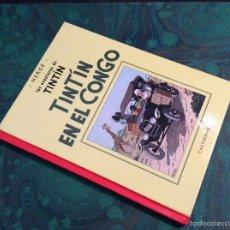 Comics - TINTIN B/N (CASTERMAN / PANINI ).TINTIN EN EL CONGO. !! EDICION PROHIBIDA !!. - 57097998