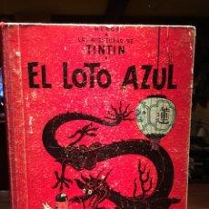 Cómics: EL LOTO AZUL 3ª EDICION DE 1970 LOMO DE TELA. Lote 57167555
