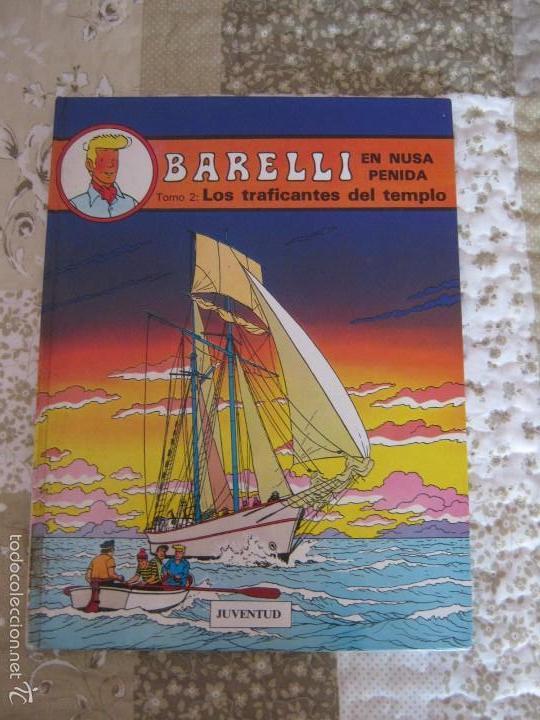 BARELLI EN NUSA PENIDA - LOS TRAFICANTES DEL TEMPLO - TOMO - 2 (Tebeos y Comics - Juventud - Barelli)