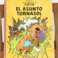 Cómics: 7659 - TINTÍN EL ASUNTO TORNASOL. 1ª EDICIÓN. LOMO ROJO. HERGÉ. EDIT. JUVENTUD. 1961.. Lote 57520721