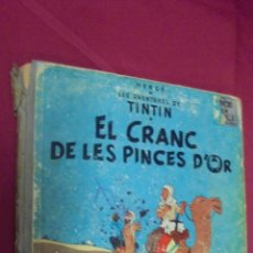 Cómics: LES AVENTURES DE TINTIN. EL CRANC DE LES PINCES D'OR. JUVENTUD. 1971. 2ª EDICIÓ. EN CATALÁ.. Lote 57525034