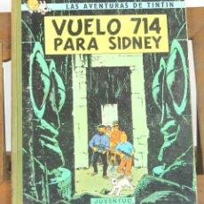 Cómics: 7682 - TINTÍN VUELO 714 PARA SIDNEY. 1ª EDICIÓN. LOMO VERDE. HERGÉ. EDIT. JUVENTUD. 1969.. Lote 57591236