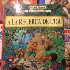 Cómics: CORI EL GRUMETE-BOB DE MOOR-A LA RECERCA DE L ´OR-1ª EDICION-JOVENTUT-CATALAN. Lote 57594484