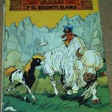 Cómics: YAKARI Nº 2 - Y EL BISONTE BLANCO -- JUVENTUD 1979. Lote 57620127