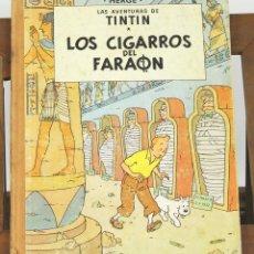 Cómics: 7700 - TINTÍN LOS CIGARROS DEL FARAÓN. 1ª EDICIÓN. LOMO MARRÓN. HERGÉ. EDIT. JUVENTUD. 1964.. Lote 57640893