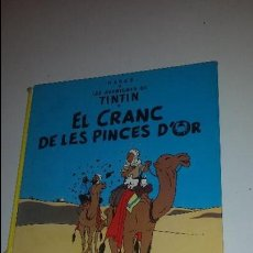 Cómics: LE CRANC DE LES PINCES D'OR -1982. Lote 57808329