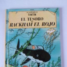 Cómics: CÓMIC CASTERMAN - TINTÍN TESORO DE RACKHAM EL ROJO -TEXTO DIFERENTE A EDICIÓN JUVENTUD - PEQUEÑO. Lote 57865171