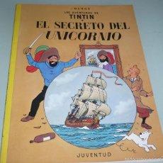 Cómics: TINTIN Y EL SECRETO DEL UNICORNIO 1985. Lote 57914910