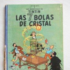 Cómics: TINTIN LAS 7 BOLAS DE CRISTAL - 1ª EDICION 1961 JUVENTUD.. Lote 58126078