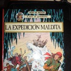 Cómics: CORI EL GRUMETE Nº LA EXPEDICION MALDITA EDITORIAL JUVENTUD 1989 ALBUM TAPA DURA . Lote 58220726