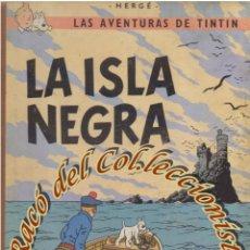 Cómics: LA ISLA NEGRA, 3A. EDICION, HERGE, EDITORIAL JUVENTUD, 1969. Lote 58277672