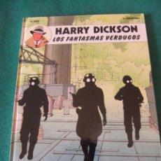 Cómics: HARRY DICKSON Nº 2 LOS FANTASMAS VERDUGOS EDITORIAL JUVENTUD 1990. Lote 58359188