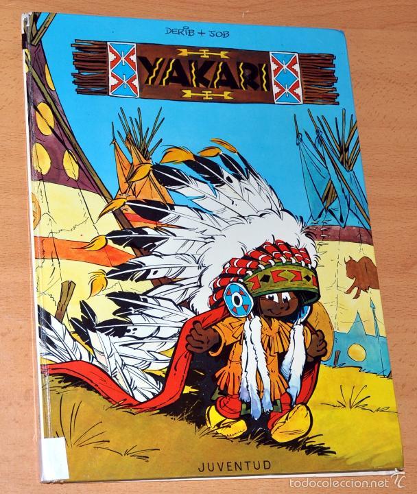 CÓMIC TAPA DURA: YAKARI - Nº 1 - DE DERIB Y JOB - EDITORIAL JUVENTUD - 1ª EDICIÓN - AÑO 1979 (Tebeos y Comics - Juventud - Yakary)