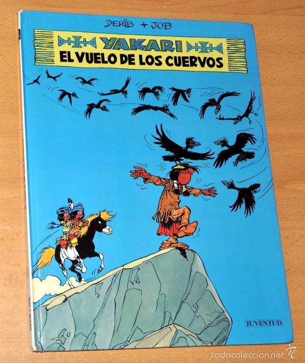 YAKARI - Nº 14 - EL VUELO DE LOS CUERVOS - DE DERIB Y JOB - EDITORIAL JUVENTUD - 1ª EDICIÓN - 1992 (Tebeos y Comics - Juventud - Yakary)