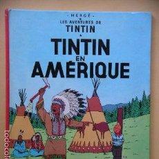 Cómics: TINTIN EN AMÉRIQUE, CASTERMAN, AÑO 1984, HERGÉ, BELGICA, BELGA, FRANCÉS (A), ERCOM. Lote 58410893