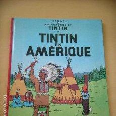 Cómics: TINTIN EN AMÉRIQUE, CASTERMAN, AÑO 1984, HERGÉ, BELGICA, BELGA, FRANCÉS (B), ERCOM. Lote 58410925