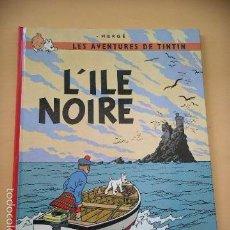 Cómics: TINTIN, L'ILE NOIRE, CASTERMAN, AÑO 1984, HERGÉ, BELGICA, BELGA, FRANCÉS, ERCOM. Lote 58411059