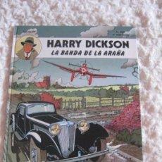 Cómics: HARRY DICKSON - LA BANDA DE LA ARAÑA N. 1. Lote 80227866