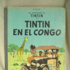 Cómics: TINTIN EN EL CONGO 1 ª EDICIÓN, AÑO 1968. Lote 58445049