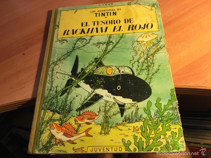 Las aventuras de tintin (el tesoro de rackham e - Vendido