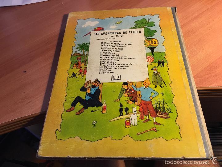 Cómics: LAS AVENTURAS DE TINTIN (EL LOTO AZUL) LOMO TELA PRIMERA EDICION 1965 (COI5) - Foto 3 - 58757958