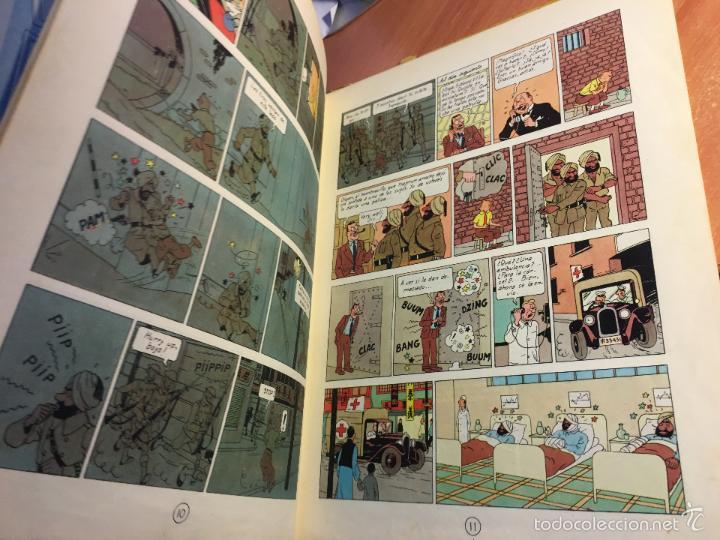 Cómics: LAS AVENTURAS DE TINTIN (EL LOTO AZUL) LOMO TELA PRIMERA EDICION 1965 (COI5) - Foto 5 - 58757958