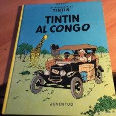 Cómics: LES AVENTURES DE TINTIN (AL CONGO) SEGUNDA EDICION 1979 CATALAN (COI5). Lote 58759095