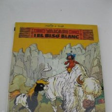 Cómics: YAKARI - Nº 2 - YAKARI I EL BISÓ BLANC - DERIB & JOB - EN CATALÁN - EDITORIAL JUVENTUD - AÑO 1979.. Lote 59251495
