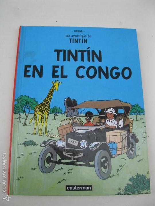 LAS AVENTURAS DE TINTÍN - TINTÍN EN EL CONGO - HERGÉ - CASTERMAN - AÑO 2001. (Tebeos y Comics - Juventud - Tintín)